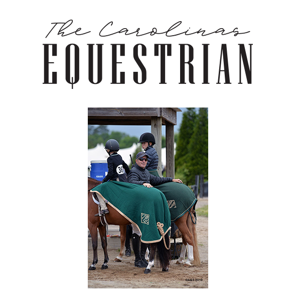 The Geitner Family Balancing Act in The Carolinas Equestrian.